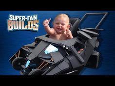 El carro de bebé perfecto para Batman