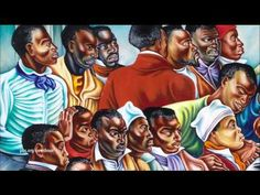African captives rise up against slavery in Talladega murals