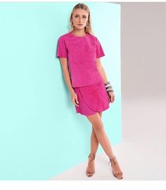 zpr Leather Lovers💖 { conjunto de chamois , tam P, cor verde, R$ 580,00 cada peça. | Saia pink avulsa, tam P, R$ 580,00- Ultimas pecas em couro @raizzoficial | Look Perfeito, maravilhoso!!!😍💕😻❤️📲 Whats: 011 99197-1828 💌 contato@samambaiastore.com.br. ✳️ www. samambaiastore.com.br #samambaiastore #modams #shop #shoponline #mariliasimoes #trend #estilo #stylish #tendencia #musthave #style #moda #summer #summer17 #verao #ecommerce…