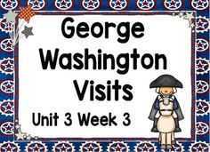 This is an ActivBoard activity to accompany Scott Foresman's Reading Street Unit 3, Week 3: George Washington Visits. This is a five day lesson with multiple activities for each day that include letter recognition, rhyming words, blending sounds and words, high-frequency words, grammar activities, journal activities, games, comprehension activities, and more.