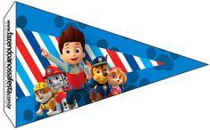 Uau! Veja o que temos para Bandeirinha Sanduiche 3 Patrulha Canina