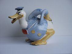 Donald Duck Novelty Teapot by Wade Heath [20] - £700.00