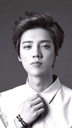Image about kpop in luhan by gabi on We Heart It Korean Haircut Men, Korean Boy Hairstyle, Korean Men, Korean Hairstyles, Asian Haircut, Long Hairstyle, Trendy Mens Haircuts, Cool Haircuts, Guy Haircuts