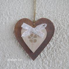 Wood heart - coeur bois - cuore legno