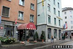 Cumbicão: Hotel Review - Onde ficar em Zurique? Montana Hotel.