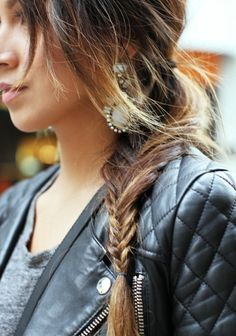 The Summer of Fishtail Braids