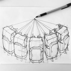 Carryology lives well beyond just this website in our hugely diverse carry community spread around the globe. Here's a scrape from our community platforms. Design Lab, Pop Design, Sketch Design, Drawing Sketches, Art Drawings, Sketching, Structural Drawing, Furoshiki, Industrial Design Sketch