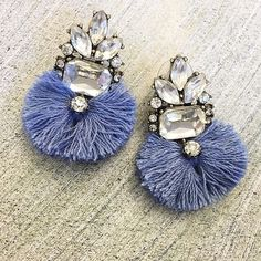 Love seeing our Color of the Year Violet Verbena featured in these new bauble bar earrings! Cool Winter, Shades Of Violet, Purple Hues, Groom And Groomsmen, Floral Crown, Color Of The Year, Wedding Colors, Stud Earrings, Verbena