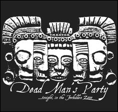 GEEK TEEZ Undead Party Oingo Boingo Tribute Womens Hoodie