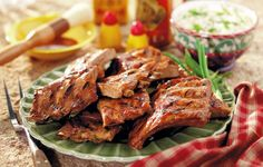Glazed Chinese Spareribs - After Grandma learned to grill Chinese ribs, she fixed them that way often.