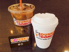 Are you a regular at Dunkin'? Earn points towards FREE beverages when you enroll any DD Card in DD Perks Rewards. Click pin to enroll.