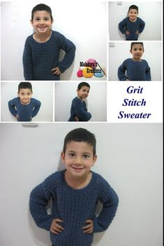 Grit Stitch Sweater - Free Pattern and Tutorial - Meladora's Creations