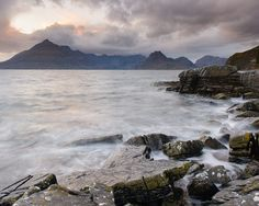 Dark Elgol - Elgol, Isle of Skye, United Kingdom by Bart Heirweg