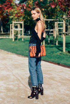 October 6, 2015 Tags Paris, Jeans, Pernille Teisbaek, Loewe, Louis Vuitton, Clutches, SS16 Women's