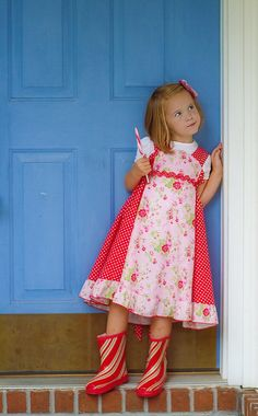 Kinderkouture Girls Twirly Red/Pink Darlin' Darla by KinderKouture, $75.00