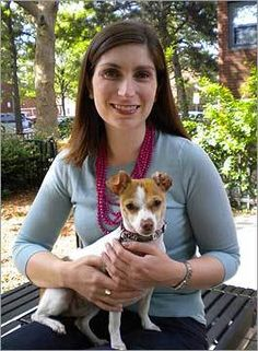 Brookline Selectwoman Jesse Mermell talks about her rescue pet - Boston.com