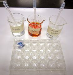 Science Stuff: How much Vitamin C is in your fruit juice? #Lab #Experiment #biology