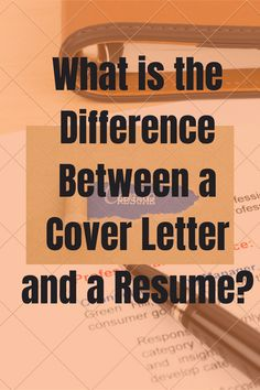 A resume and a cover letter are two separate documents and you need both for an effective job search. Read for advice and templates for each, plus a FREE Job Search Readiness checklist Cover Letters, Cover Letter For Resume, Career Quotes, Career Advice, First Resume, I Got The Job, Job Interview Tips, Work Stress, Career Counseling