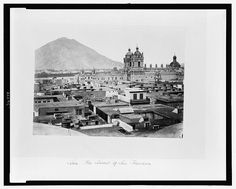 Lima. The Convent of San Francisco, 1868  Fuente: Library of the Congress