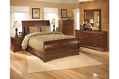The Wilmington Sleigh Bedroom Set from Ashley Furniture HomeStore Sleigh Bedroom Set, King Bedroom Sets, Sleigh Beds, Queen Bedroom, Master Bedroom, Bedroom Suites, Bedrooms, Furniture Sale, Home Decor Furniture