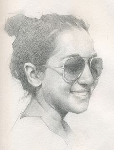 Pencil sketch by Jeff Haines