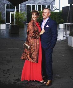 Another shot of @stylingdutchman rocking her @trendlistr kimono jacket with a bright red full length dress  Words can't describe how much we love this combo!