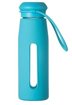 Amazon.com : Bestwoohome Glass Silica Gel Outdoor Sports Water Bottle Travel Mug…