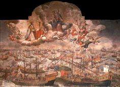 Battle of Lepanto Catholic | ... Virgen del Rosario y la batalla de Lepanto. | Peregrino de lo Absoluto