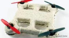 Biodegradable Drone Decomposes On Its Own  In the short duration of just a few years, drones have come very far. The latest autonomous craft is being referred to as the first biological drone or bio-drone.   http://www.histreasuresandpresence.com/2014/11/biodegradable-drone-decomposes-on-its.html