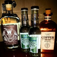 For the real gin tonic lover! Double You, Copperhead and Fevertree! It's Belgian, it's fantastic!