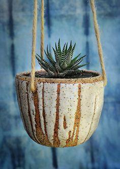 Hanging Ceramic Planters | Etsy
