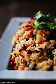 Costa Rican Gallo Pinto (Rice and Beans)