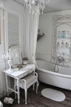 Princessgreeneye | Beautifull White Rooms 3 | Pinterest Badezimmer Shabby Chic