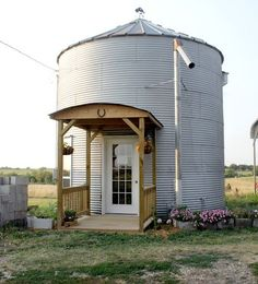 Home Was Once A Grain Bin