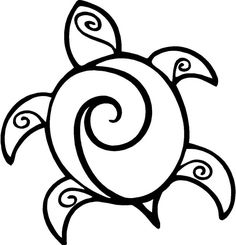 Fantastic Sea Turtle Coloring Pages Printable. The sea turtle in the coloring pictures below is fantastic. Today is special because you can print then color the Sea Turtle Painting, Sea Turtle Art, Sea Turtles, Draw A Turtle, Sea Turtle Tattoos, Turtle Sketch, Ninja Turtles, Cartoon Drawings, Easy Drawings