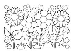 May Flowers Coloring Pages Awesome Growing Things Kids Environment Kids Health National Coloring Pages Nature, Summer Coloring Pages, Abstract Coloring Pages, Easy Coloring Pages, Pokemon Coloring Pages, Coloring Sheets For Kids, Mandala Coloring Pages, Kids Coloring, Free Coloring