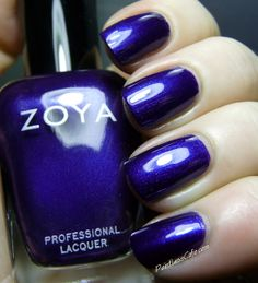Zoya Satin Collection for Fall 2013  NEVE - Swatches and Review | Pointless Cafe