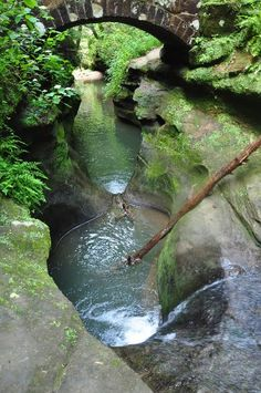 Devil's Bathtub Ohio ~ Hocking Hills
