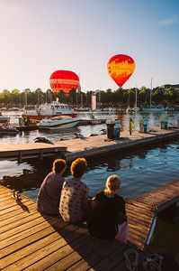 257/365 Hot Air Balloons
