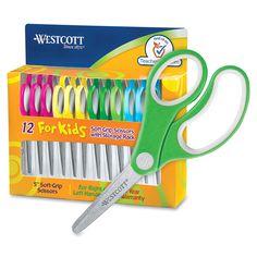Westcott Junior Stainless Steel Blunt Tip Scissors Teacher Supplies, Cute School Supplies, Craft Supplies, Sink Toilet Combo, Green Braces, Diy Eid Gifts, School Tool, How To Make Slime, Simple Girl