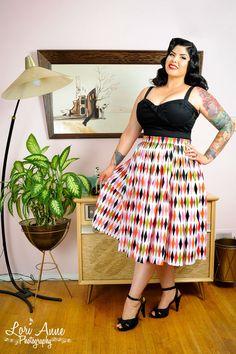 Jenny Skirt in 1950s