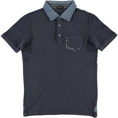 Un'alternativa alla solita camicia, prova una polo mezza manica in cotone Consenso - € 24,90 | Nico.it