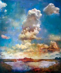 Les oeuvres de Stev'nn Hall brouillent les frontières entre le réel et l'imaginaire. Les peintures semblent réalistes, et pourtant, elles sont un savant mélange de différentes techniques et supports. De la photographie à la peinture impressionniste en pas...
