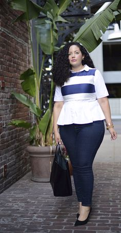 6 flattering ways to wear everyday denim — thanks to epic styling tips from @laneBryant, @GirlWithCurves, @GarnerStyle, and @LoveBrownSugar.