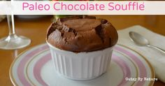 Impress your loved ones with this grain-free, dairy-free, low-sugar paleo chocolate soufflé. It's a delicious chocolately treat for your whole family. Enjoy.