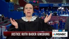 National Treasure Kate McKinnon As Ruth Bader Ginsburg Is What Dreams Are Made Of
