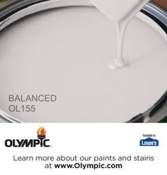 BALANCED OL155 is a part of the grays & blacks collection by Olympic® Paint.