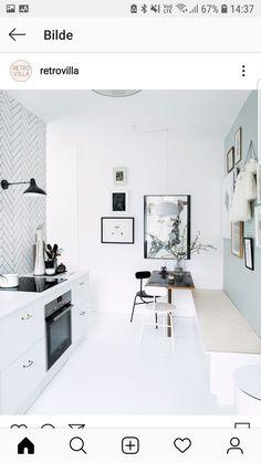 Home Interior Design — Danish home of Mette Helena Rasmussen / ph: Tia. Kitchen Furniture, Kitchen Interior, Kitchen Dining, Nordic Kitchen, Space Kitchen, Kitchen Decor, Interior Exterior, Home Interior Design, Modern Interior
