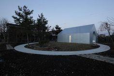 UA architects - Shirasagi Museum, Utsunomiya 2013. Via.