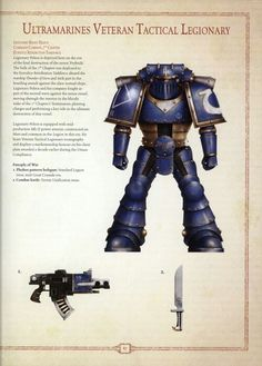 Ultramarine legion tactical veteran